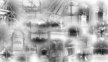 Gates of goth HD wallpaper