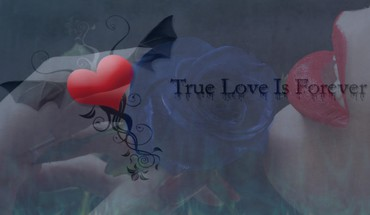 True love is forever HD wallpaper