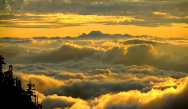 Sunset clouds sunlight skyscapes skies HD wallpaper