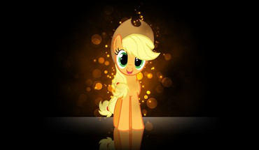 My little pony applejack pony: friendship is magic HD wallpaper