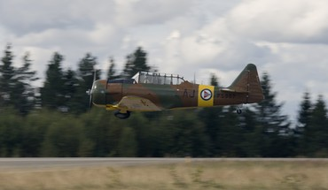North american at-6 texan HD wallpaper