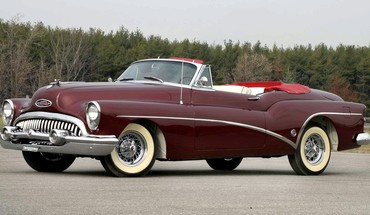 Automobiliai Buick 1953  HD wallpaper