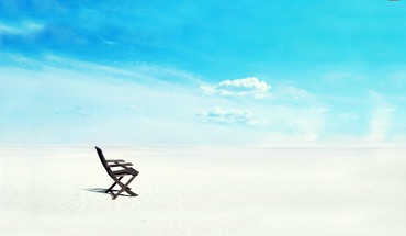 White sands chair HD wallpaper
