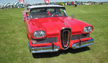1958 edsel HD wallpaper