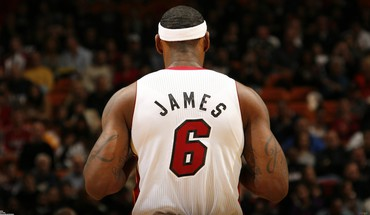 "LeBronas Jamesas Majamio ""Heat"" NBA  HD wallpaper"