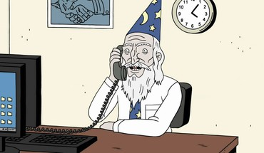 Computers office wizards phone ugly americans leonard powers HD wallpaper