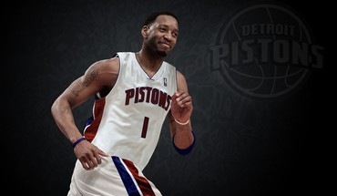 Detroit Pistons NBA Tracy McGrady krepšininkas  HD wallpaper