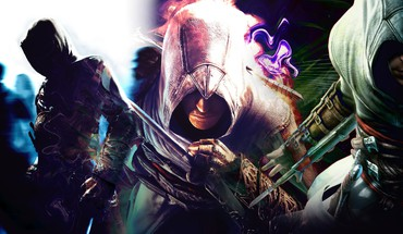 La ahad assassins creed blue green multicolor HD wallpaper
