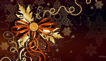 Holiday bronze HD wallpaper