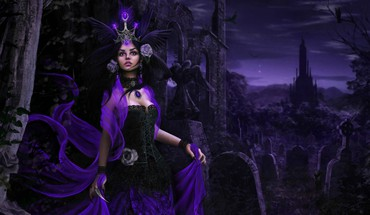 Dark fantasy  HD wallpaper