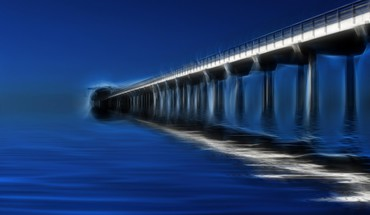 Photo of scripps pier in la jolla california HD wallpaper