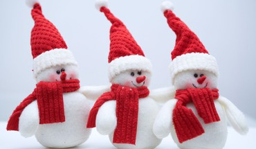 Ute Snowmen  HD wallpaper
