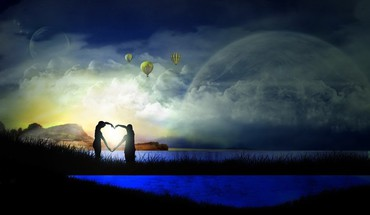 Dream of love HD wallpaper