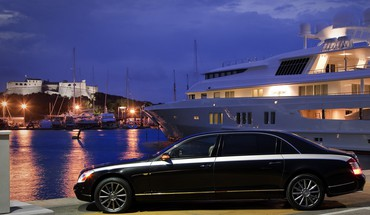Automobiliai Maybach 2010 prabangos Zeppelin Yolo  HD wallpaper