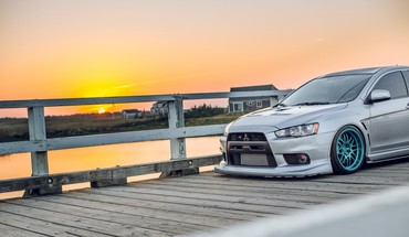 Automobiliai Mitsubishi Lancer EVO X  HD wallpaper