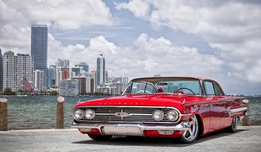 Chevrolet Impala Impala 1960 HRE ratai HD wallpaper