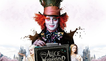 Märchenland-wütenden Hutmacher Mia Wasikowska Johnny Depp  HD wallpaper