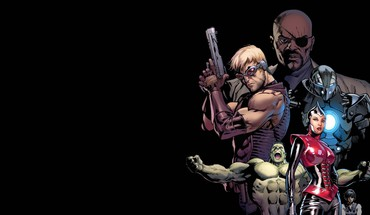 Hulk (comic character) comics nick fury avengers HD wallpaper