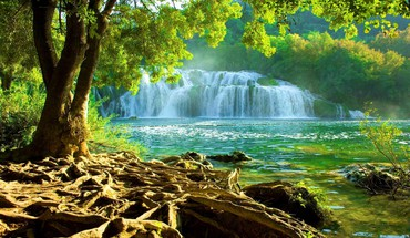 National park krka HD wallpaper