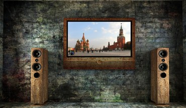Creative russian tv HD wallpaper
