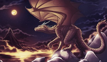 Fantastische Kreaturen digital art Drachen Fantasie  HD wallpaper