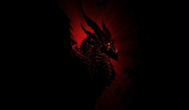 Dragon shadow HD wallpaper