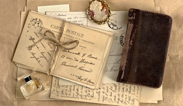 Vintage letter HD wallpaper