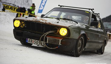Cars racing artic drift speed hunters gatebil HD wallpaper