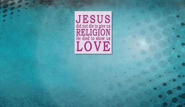 Jesus love HD wallpaper