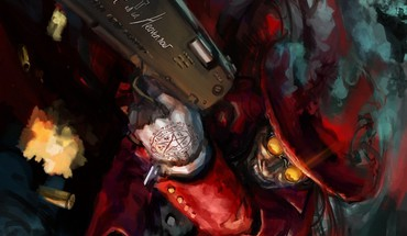 Guns hellsing alucard HD wallpaper