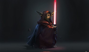 Star wars fantasy art light sabers darth yoda HD wallpaper