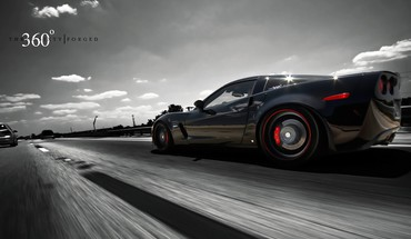 Iran vehicles chevrolet corvette three sixty forged HD wallpaper