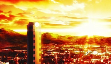 Amnesia cities buldings dusk maiden of skies HD wallpaper