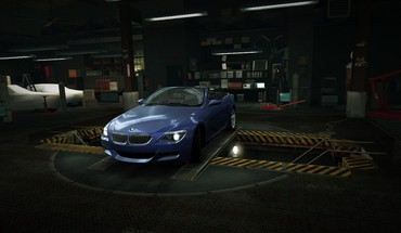for Speed ​​Cabriolet BMW m6 garage nfs  HD wallpaper