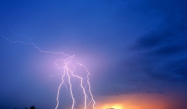 Nature volcanoes lightning HD wallpaper