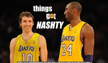 Bryant des Los Angeles Lakers joueur de Steve Nash  HD wallpaper