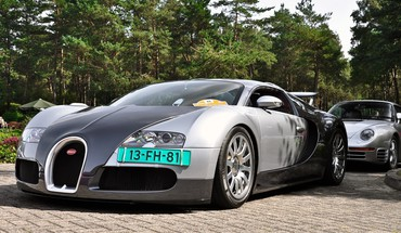 Automobiliai Bugatti Veyron  HD wallpaper