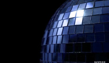 Retro disco ball HD wallpaper