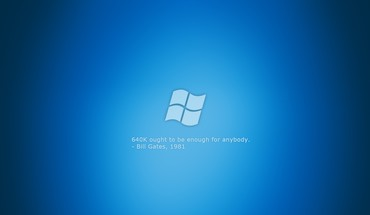 Microsoft windows blue logos quotes HD wallpaper