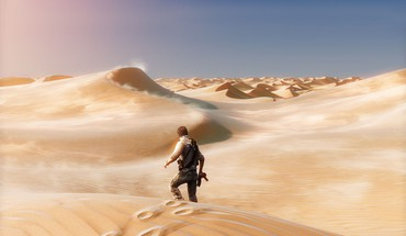 Video games desert uncharted nathan drake 3 HD wallpaper