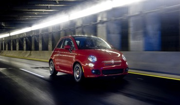 Fiat 500 automobiliai  HD wallpaper