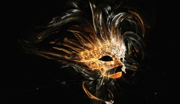 Masks digital art artwork HD wallpaper