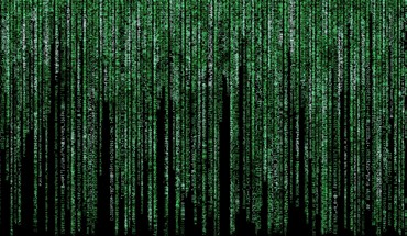 Text fake matrix HD wallpaper