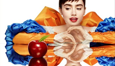 Lily collins mirror snow white apples movies HD wallpaper
