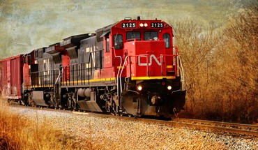 Train locomotive HD wallpaper