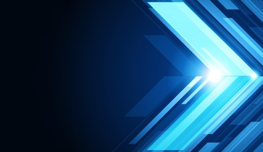 Blue vector arrows graphic art illustrator HD wallpaper