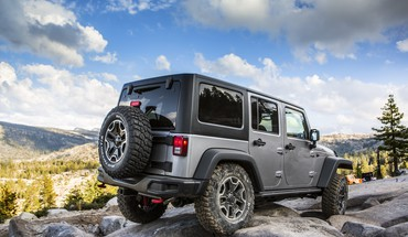 Clouds neribotas Jeep Wrangler Rubicon 10th anniversary 2013  HD wallpaper