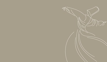 Minimalistic dervish rumi sufism HD wallpaper