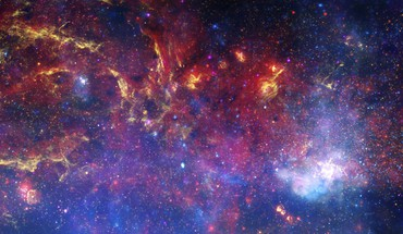 Microsoft windows 8 nebulae nighttime outer space HD wallpaper