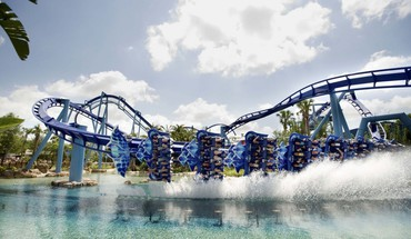 Awesome roller coaster HD wallpaper